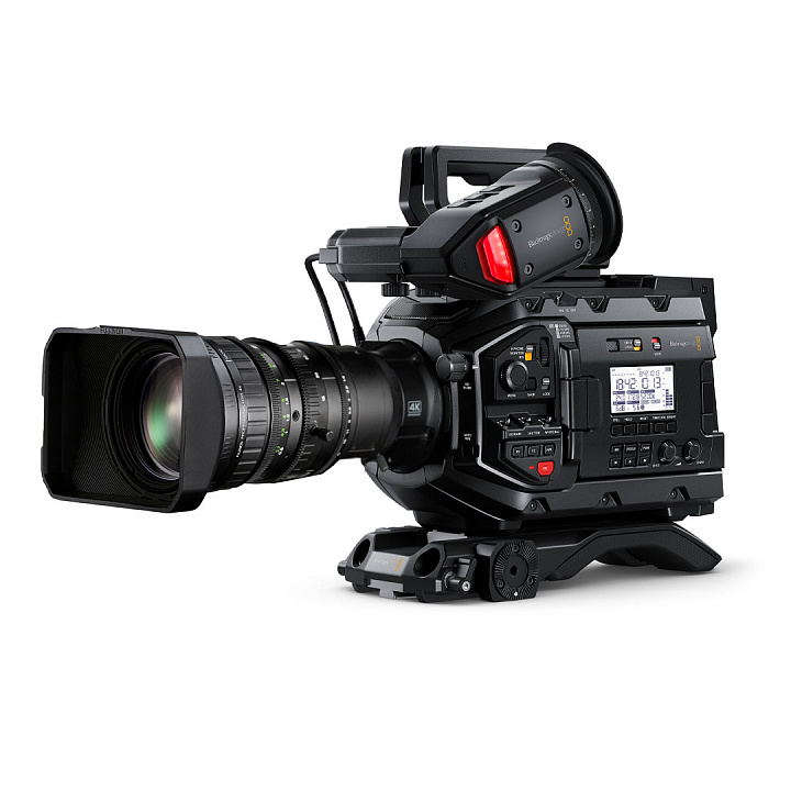 Комплект Новости в HD. URSA Mini Pro 4.6K G2+ZA12x4.5BRM-M6+B4 Mount+MS-15
