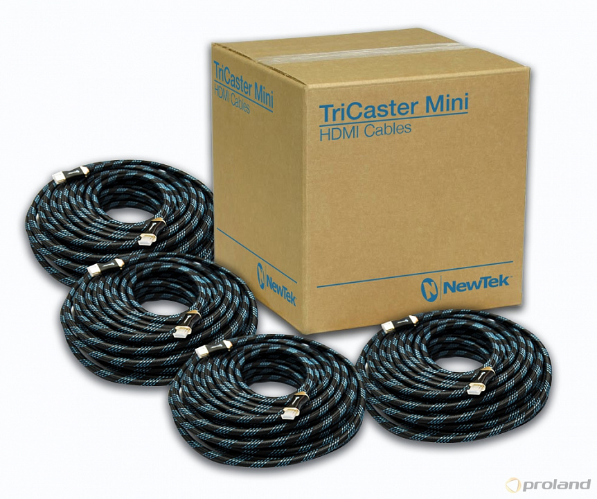 Newtek TriCaster Mini Cable Kit комплект кабелей